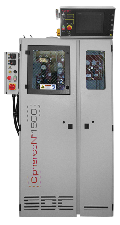 Ciphercon 1500 Fully Automated Gas Cabinet Sdc 174