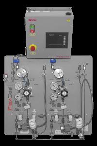 FlexGas™ 6-Valve Panels + FlexPowr™ Controller